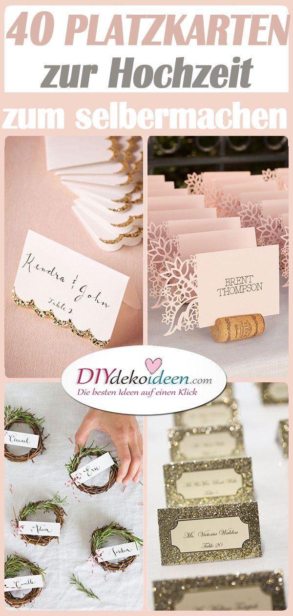 Photo of Haga tarjetas de lugar para la boda usted mismo: 40 ideas para tarjetas de lugar para la boda