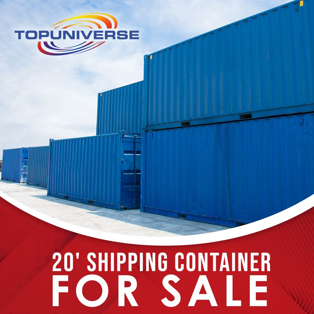 20ft Export Purpose Shipping Containers for Sale in 2020