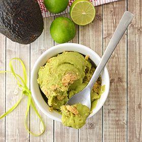 Key Lime Pie-Avocado Ice Cream – Helado de Dulce de Limón y Aguacate