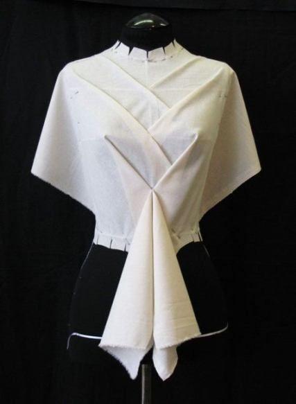 67+ Trendy Origami Dress Fashion Fabric Manipulation,  #dress #Fabric #fashion #Manipulation ... #fabricmanipulation