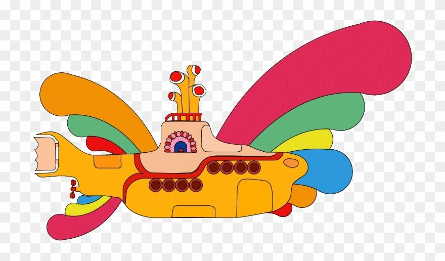The Beatles Yellow Submarine Beatles Yellow Submarine Png Clipart Yellow Submarine Art Yellow Submarine Beatles Yellow