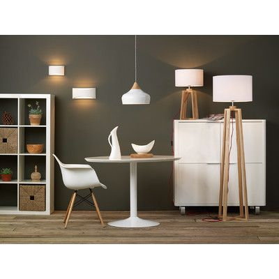 Get The Scandi Look With Lighting From Socket Store Featuring Gaucho Gloss White Large Ceiling Pendant Pyramid Floor And Table Lamp Hove Small