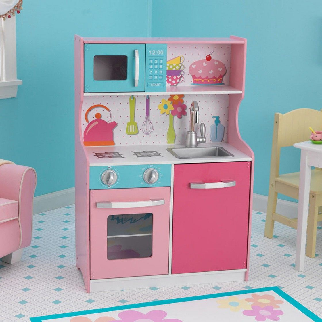 Circo Wooden Pretend Play Kitchen | Kiera\'s Xmas | Pinterest ...