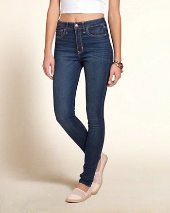 Hollister super skinny jeans or jeggings