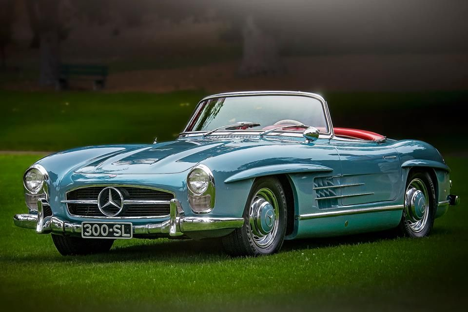 Beautiful 300SL.