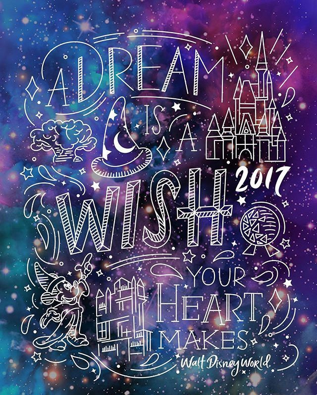 A Dream Is A Wish Your Heart Makes When Your Fast Asleep In