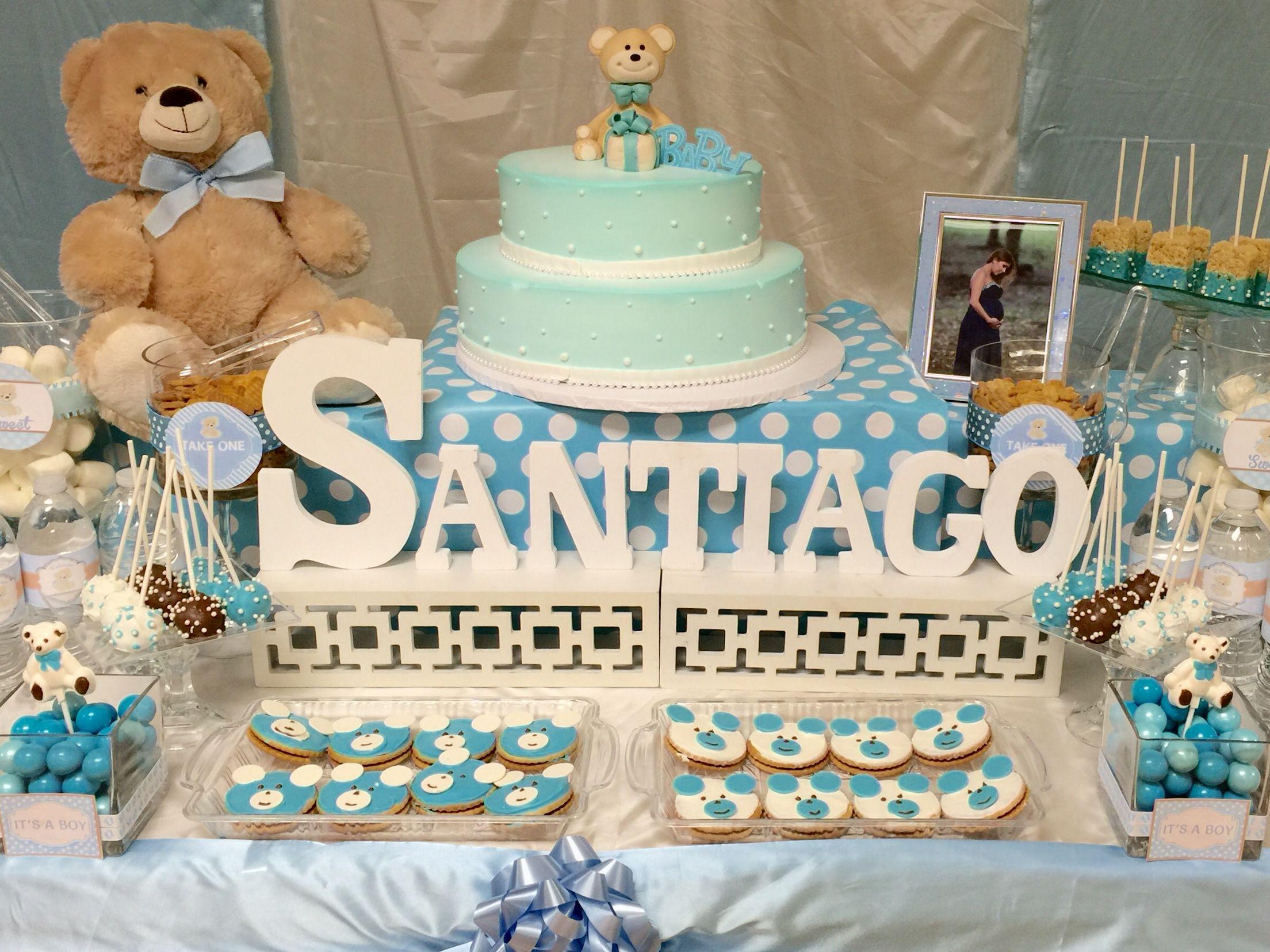 Baby Shower Teddy Bear Theme Party Ideas Pinterest Teddy Bear