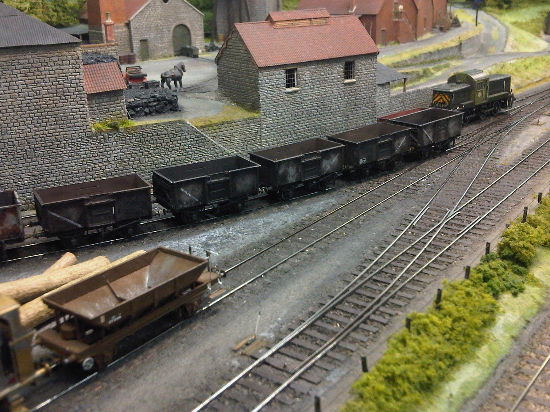 Highbury Colliery Model Trains Model Railway Model Train Scenery