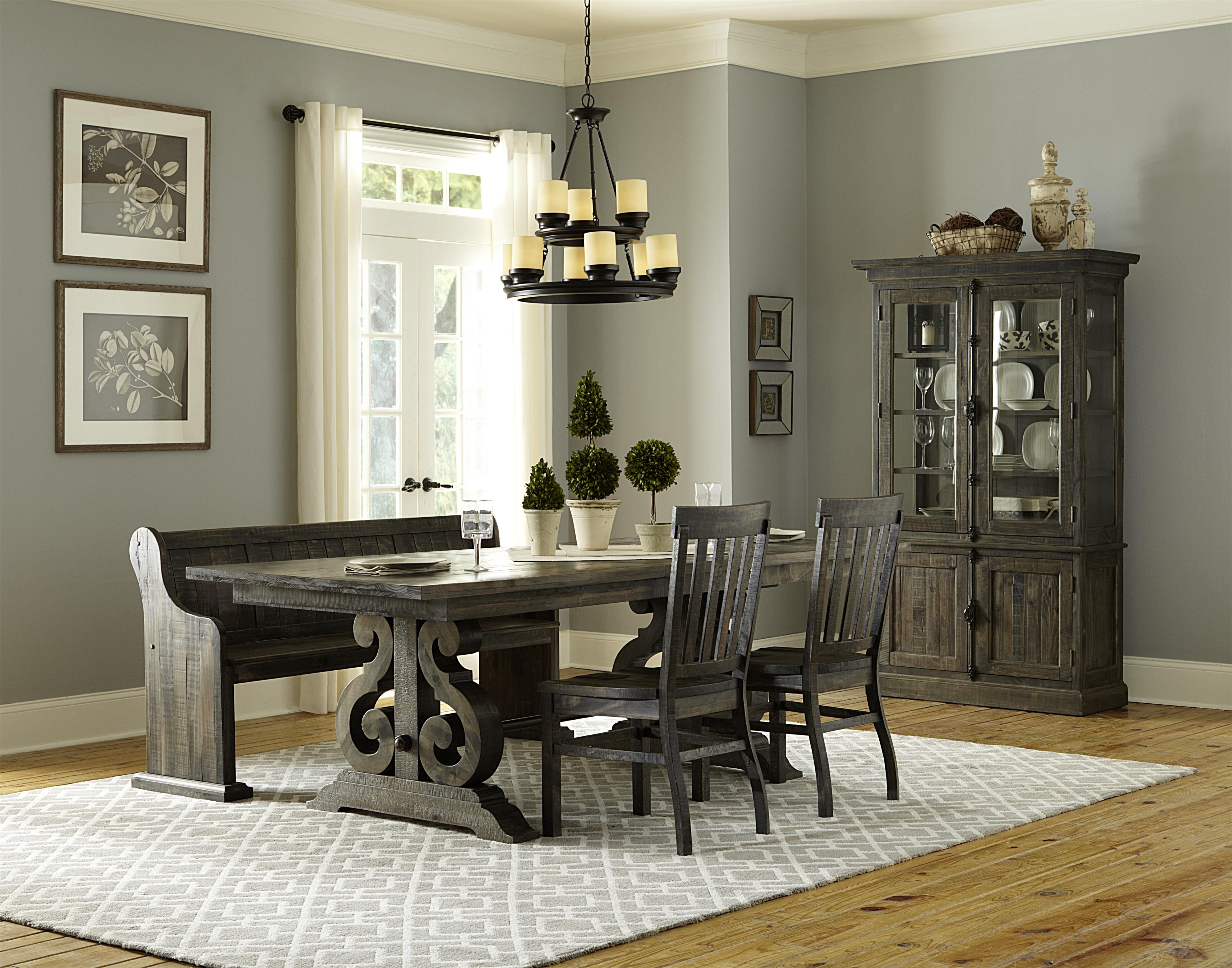 Try Adding A Casualrustic Bench To Your Dining Set To Create A Entrancing Dining Room Table For 2 Decorating Inspiration