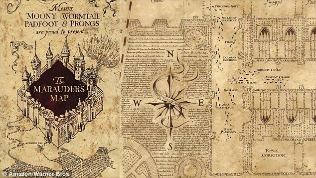 Real Life Marauder S Map Plots Indoor Locations And Can Track People Harry Potter Marauders Map Harry Potter Quotes Wallpaper Harry Potter Style