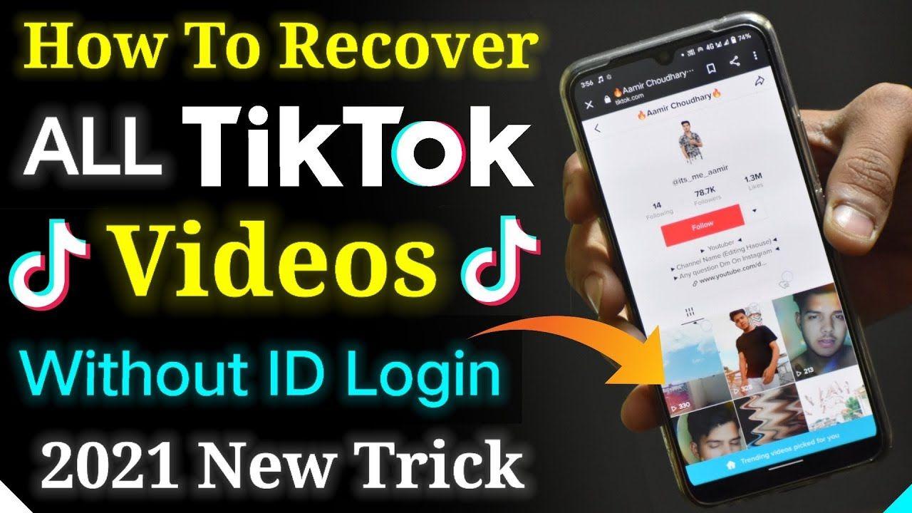 Pin On Tiktok Video Recovery 2021