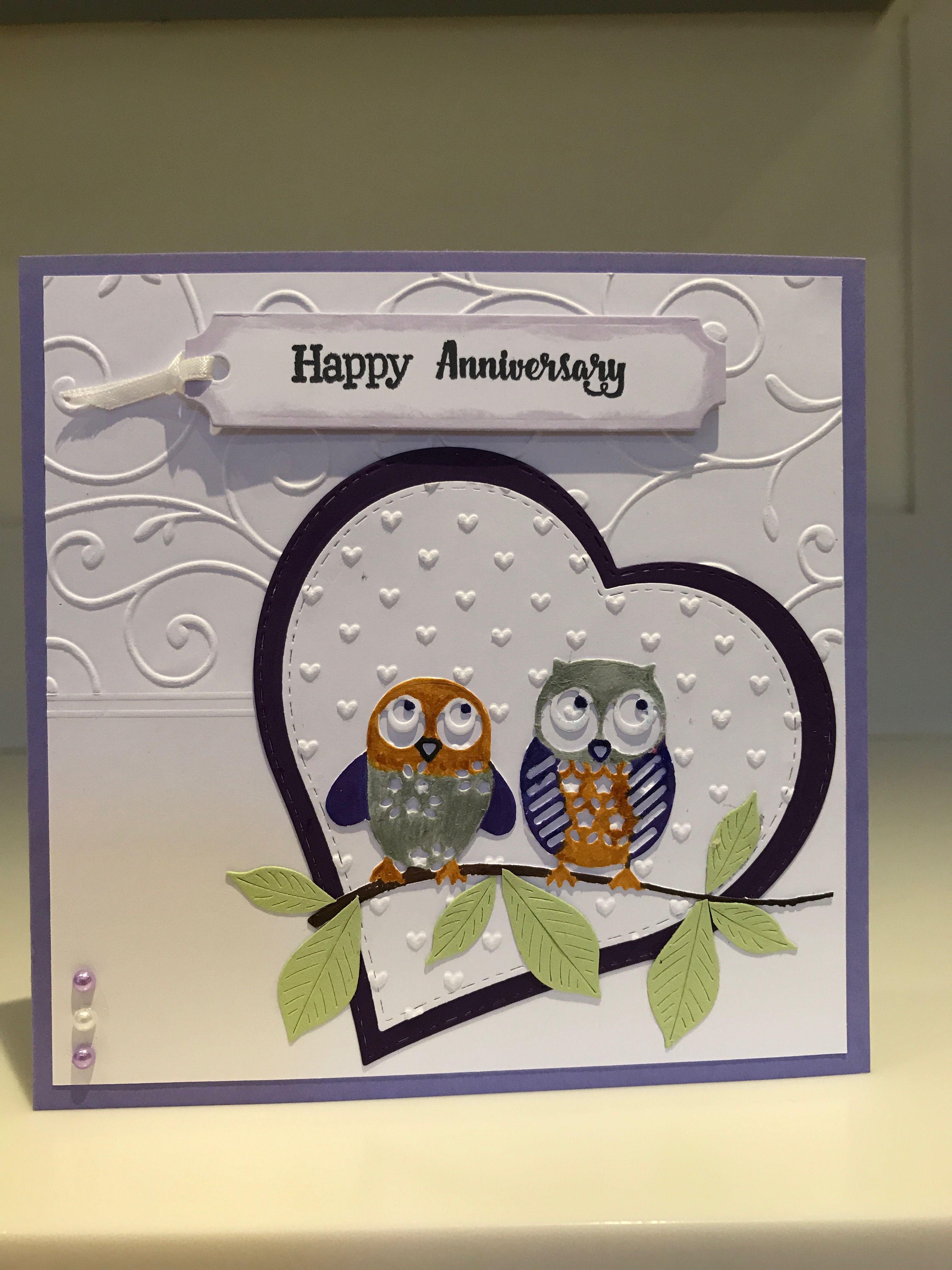 For Mum Dad G Anniversary Cards Handmade Birthday Card Design Anniversary Cards For Husband