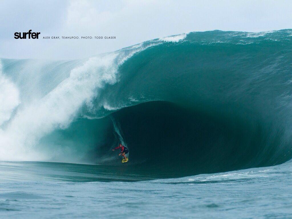 Une des plus grosses vagues du monde Vague, La mer