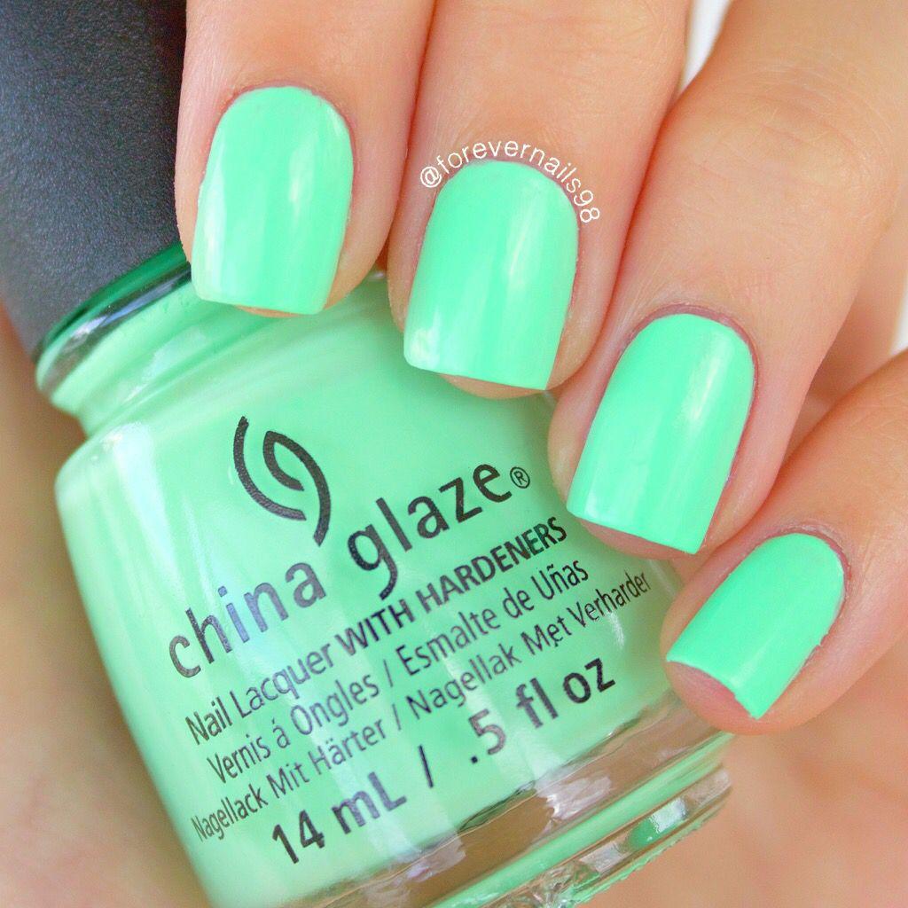 "China Glaze ""Highlight Of My Summer"" | Nails | Pinterest | Uñas en ..."