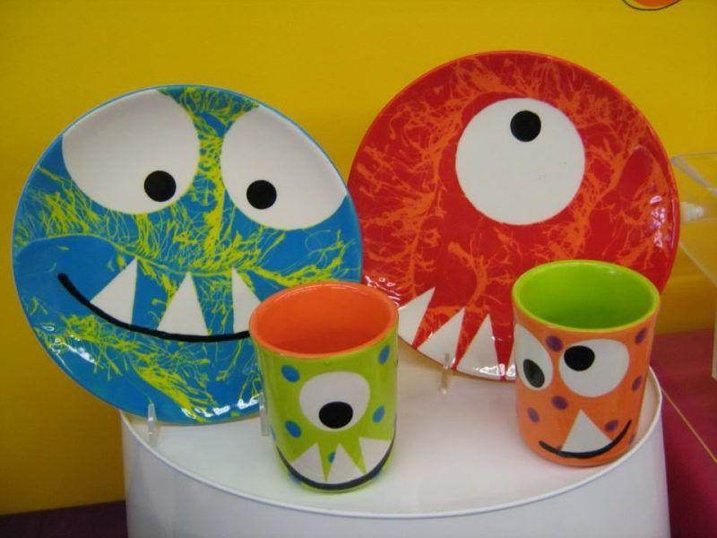 Keramik bemalen: 40 DIY Ideen - Haus Dekoration Mehr #ceramiccafe