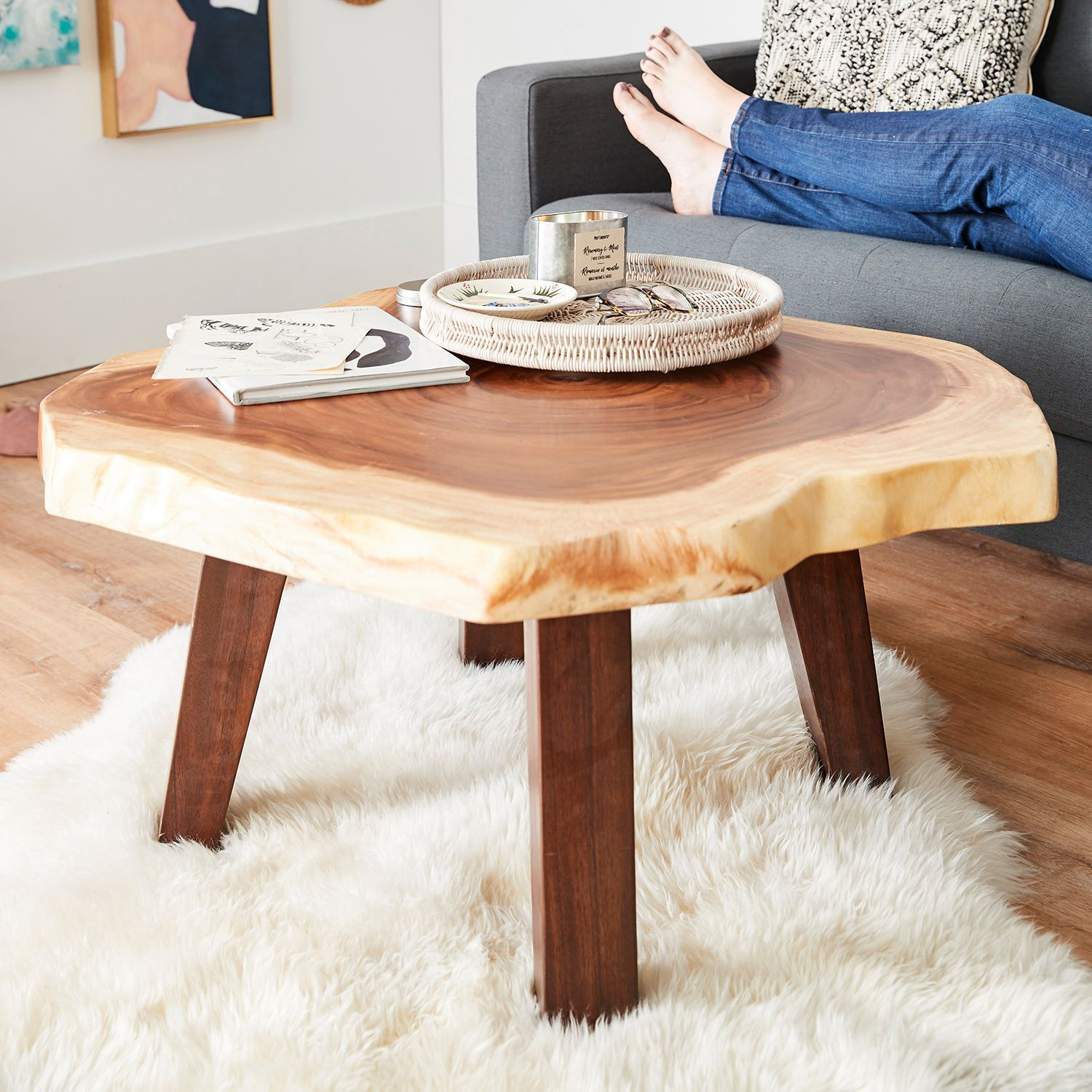 Log Coffee Table With Images Coffee Table Log Coffee Table Table