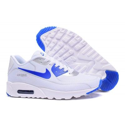 679e514349 Classic Nike Air Max 90 Fireflies Shoes White/Royal Blue | shoes ...