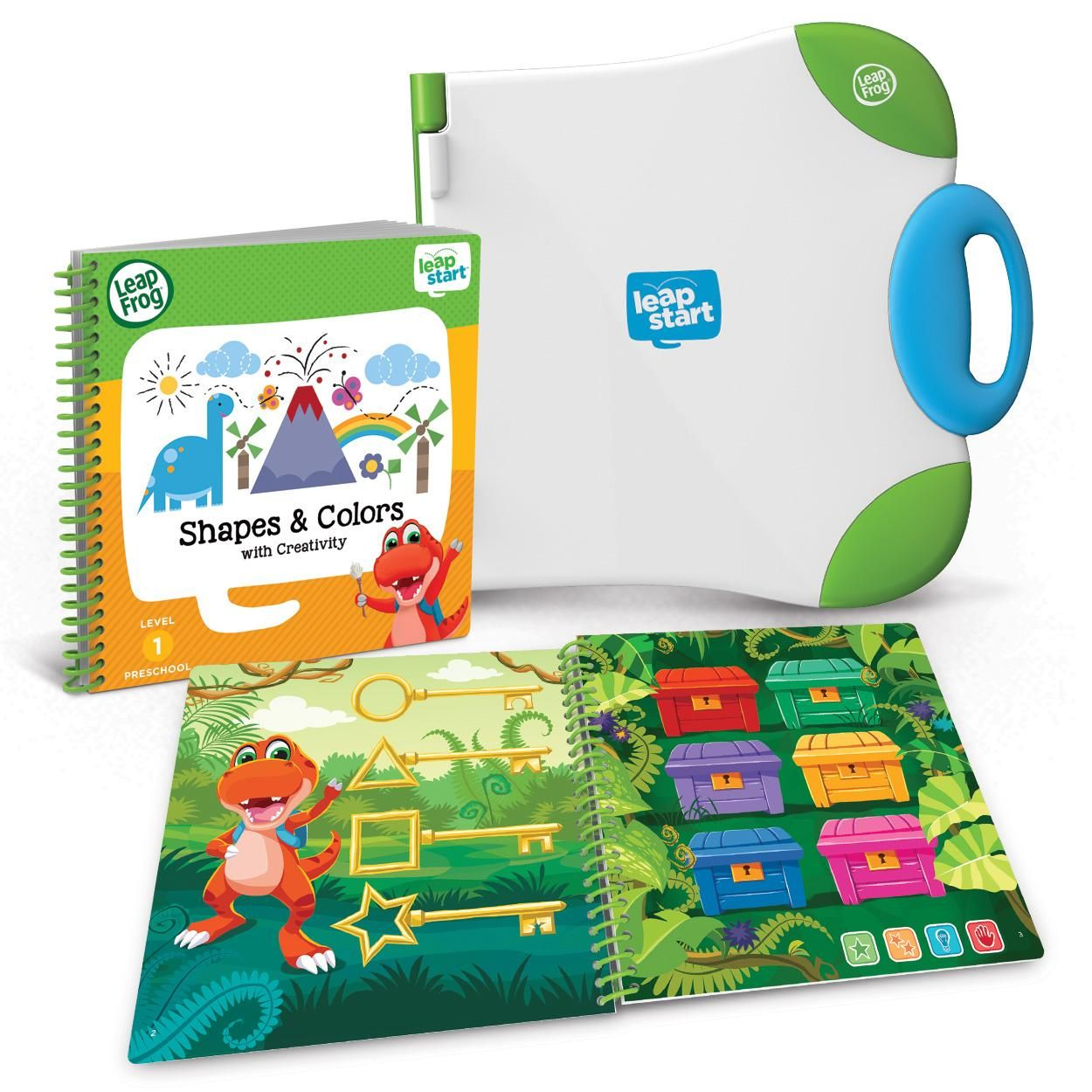 LeapFrog LeapStart Preschool Activity Book: Shapes and Colors and ...