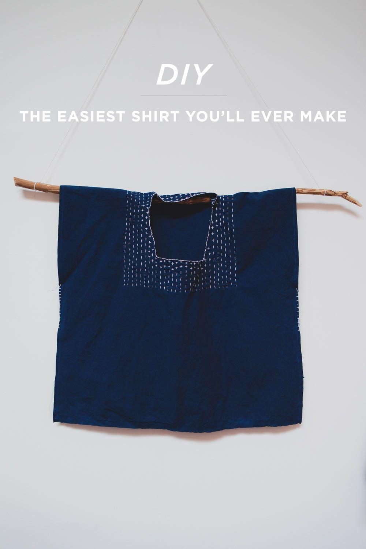 DIY huipil shirt   ◁R E F A S H I O N▷   Pinterest   Clothes, Diy ...