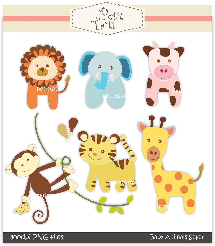 photo relating to Free Printable Baby Safari Animals identify pets Electronic clip artwork - kid animal safari, Quick
