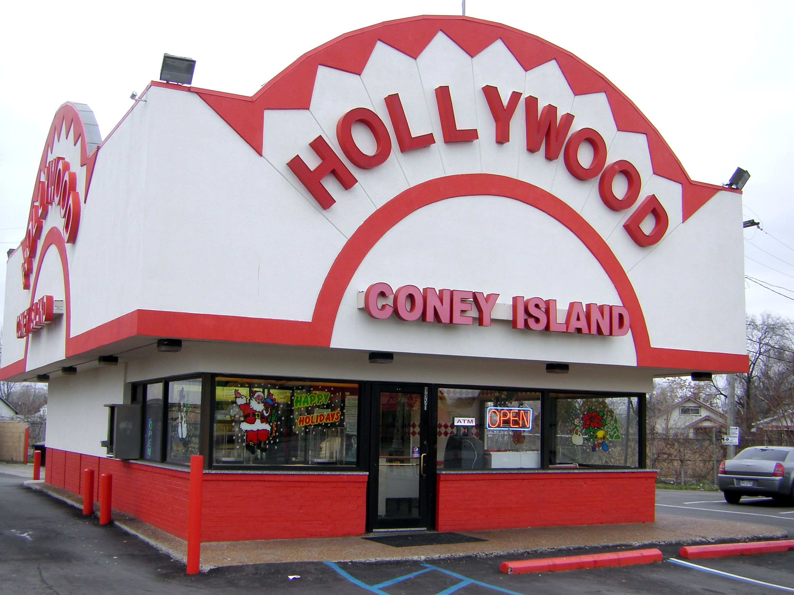 Coney Island Restaurant Images Hollywood Has A Detroit And