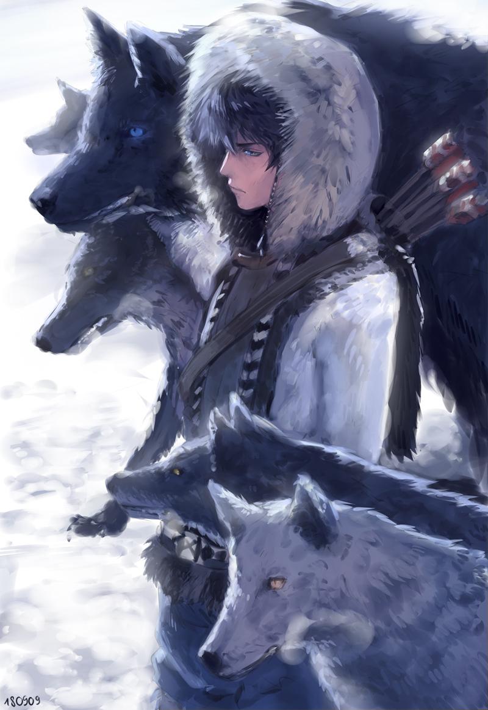 Photo of #狼 狼 – MiQのイラスト – pixiv