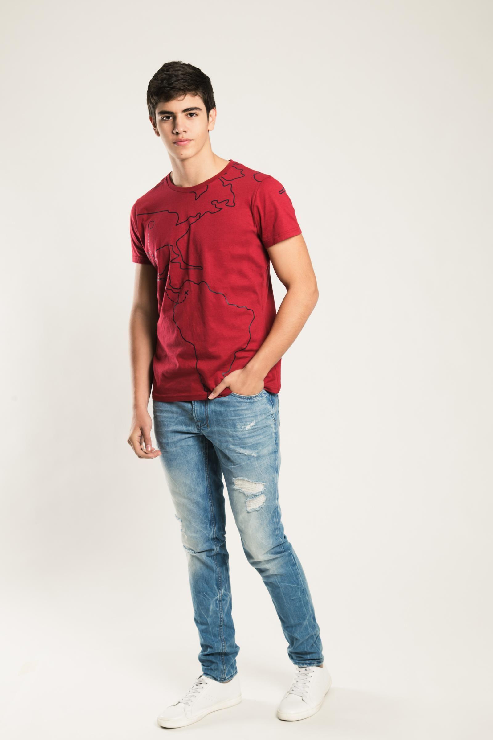 Jeanswear-PANTALON KOAJ ROLL 34 SKINNY 1/17