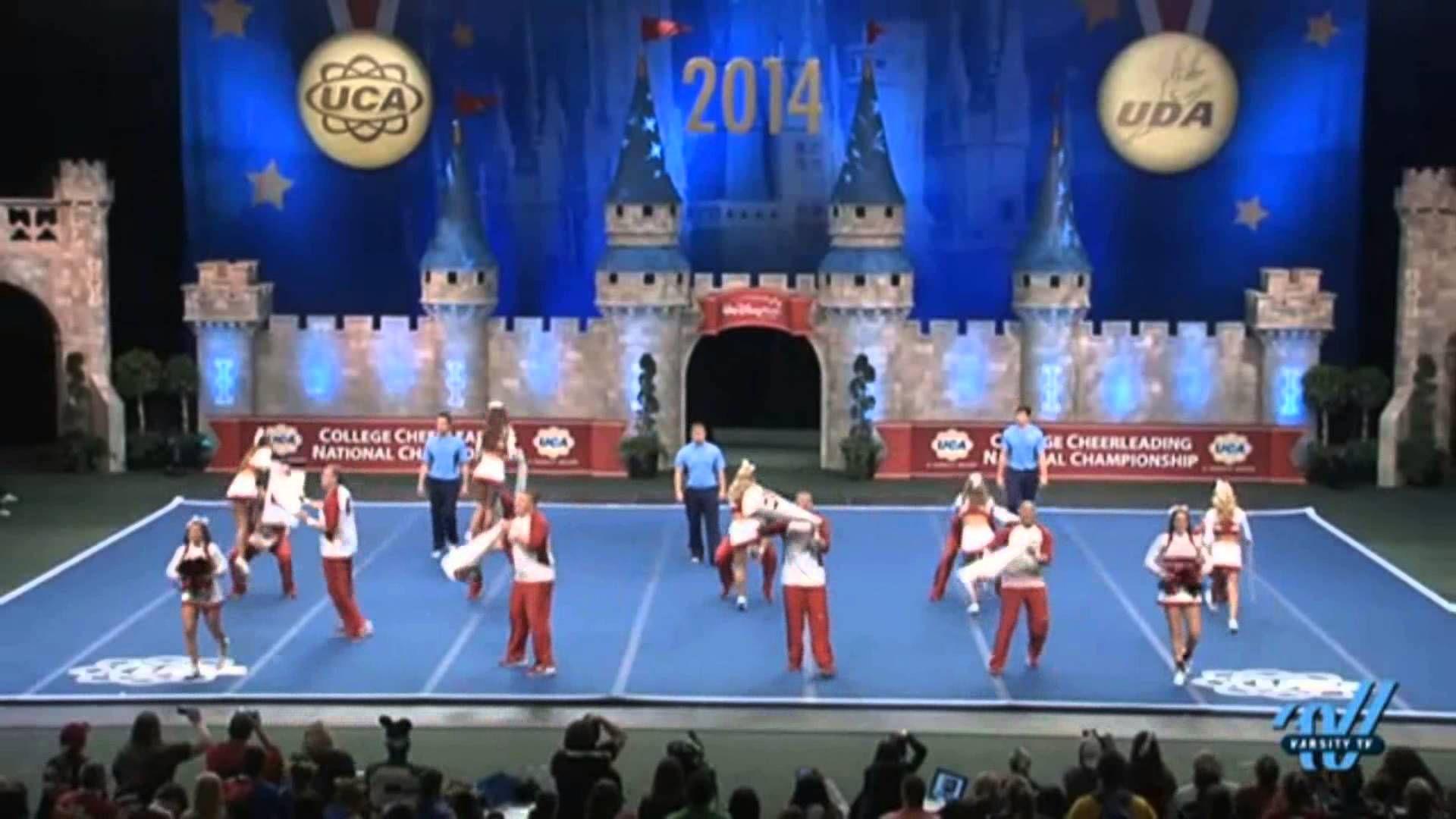 Wsu cheer uca national cheerleading competition 2014