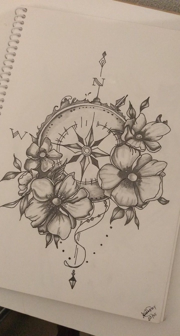 Photo of horloge – – #clock #compasstattoo #flowertattoo #moontattoo #tinytattoo