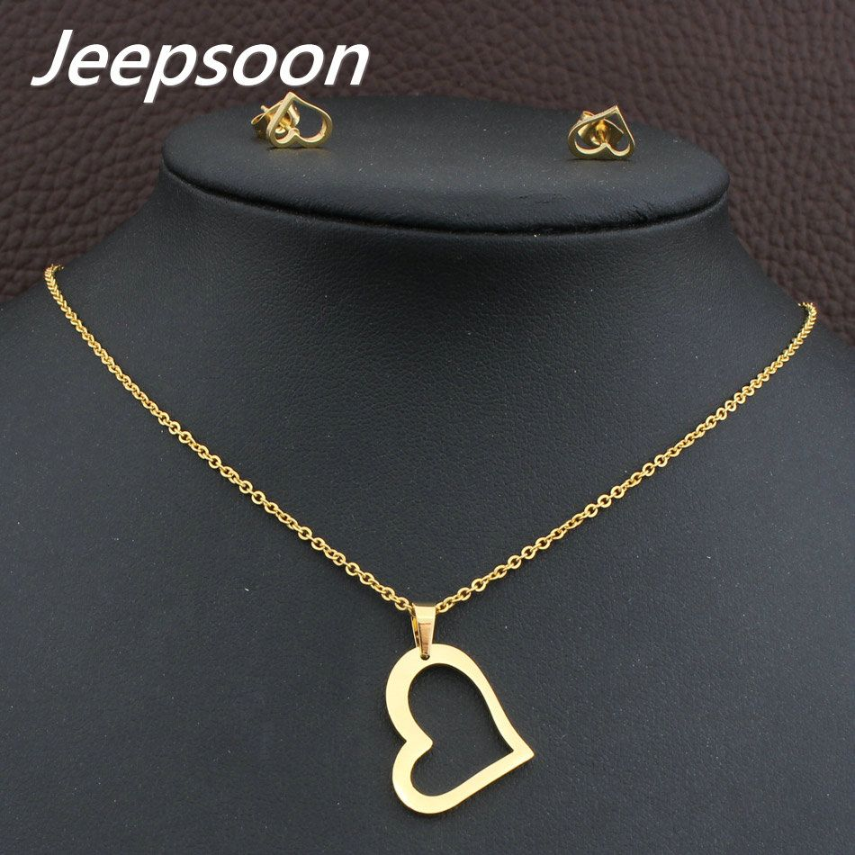 Wholesale fashion stainless steel jewelry heart necklace pendant