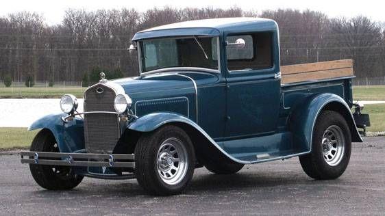 1931 Ford Model A Igota 86 Ford Stepside Blue Interior Would