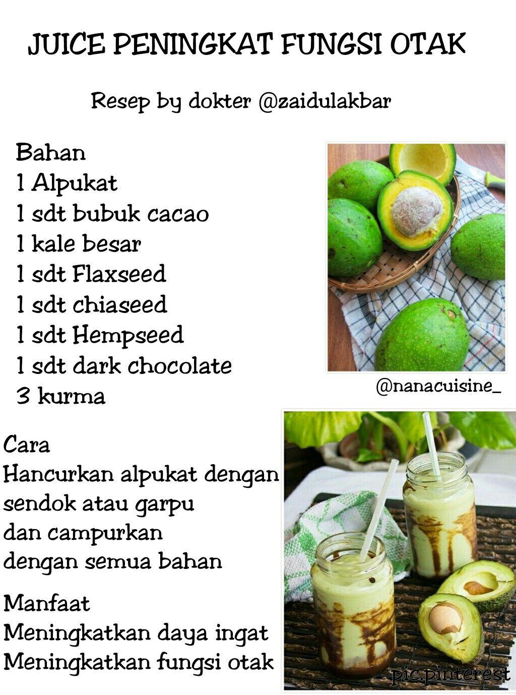 Resep Dr Zaidul Akbar Resep Diet Resep Diet Sehat Kesehatan Alami