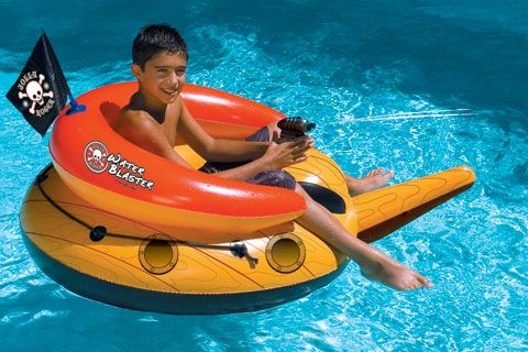 Pirate Pool Float Water Blaster For The Poolocean Pool Floats