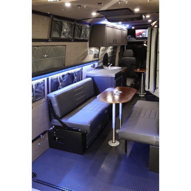 RB Touring Van 03 170 Sprinter van, Custom vans, Roof