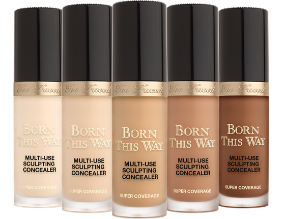 Born This Way Super Coverage Concealer Too Faced Concealer Coverage Concealer No Foundation Makeup