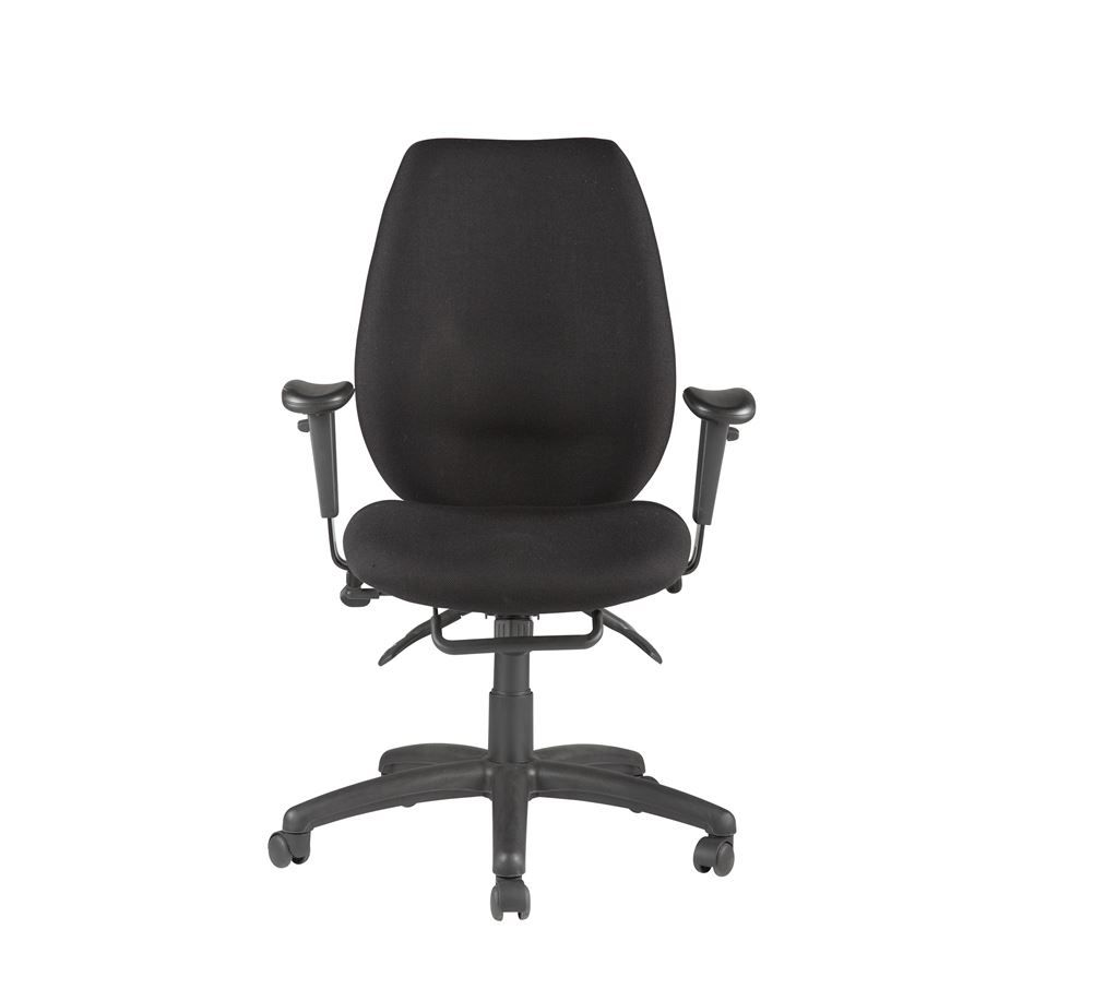 Trinity Black Ergonomic Ops Chair Trinity Black Ergonomic