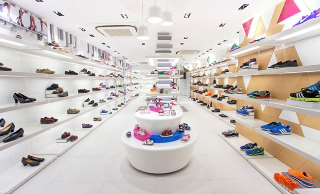 Super U Shop Fitting can provide many different shoes shop ...