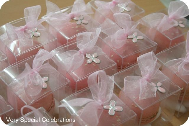 Wedding Bomboniere Gifts: French Macaron Bomboniere By 'Very Special Celebrations