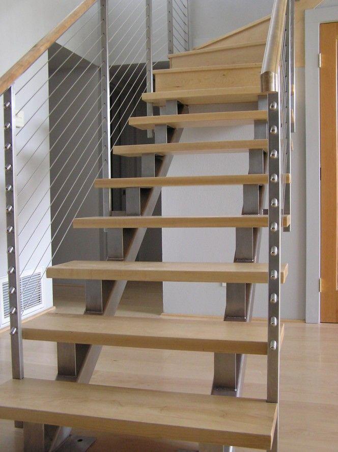 Best A C Custom Metal Floating Staircase Modern Minimalist 400 x 300