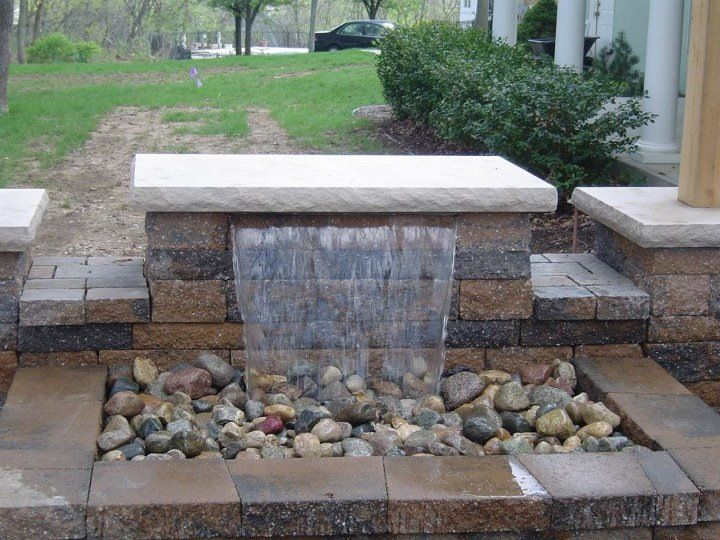 Image Result For Pondless Waterfall In Retaining Wall Waterfalls
