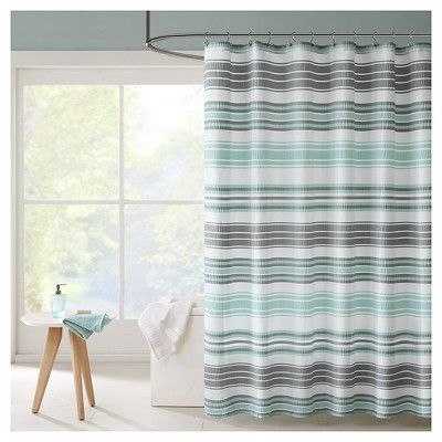 Shower Curtain Aqua Target Striped Shower Curtains Beach