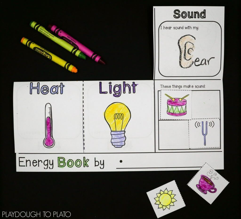 Light, Sound and Heat Science activities for kids