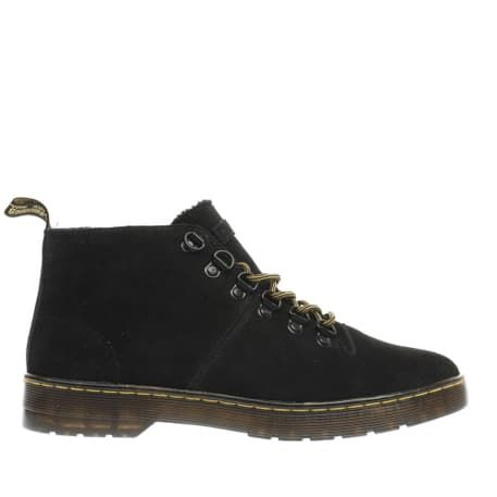 womens black dr martens lahava 6 eye lined chukka boots | schuh