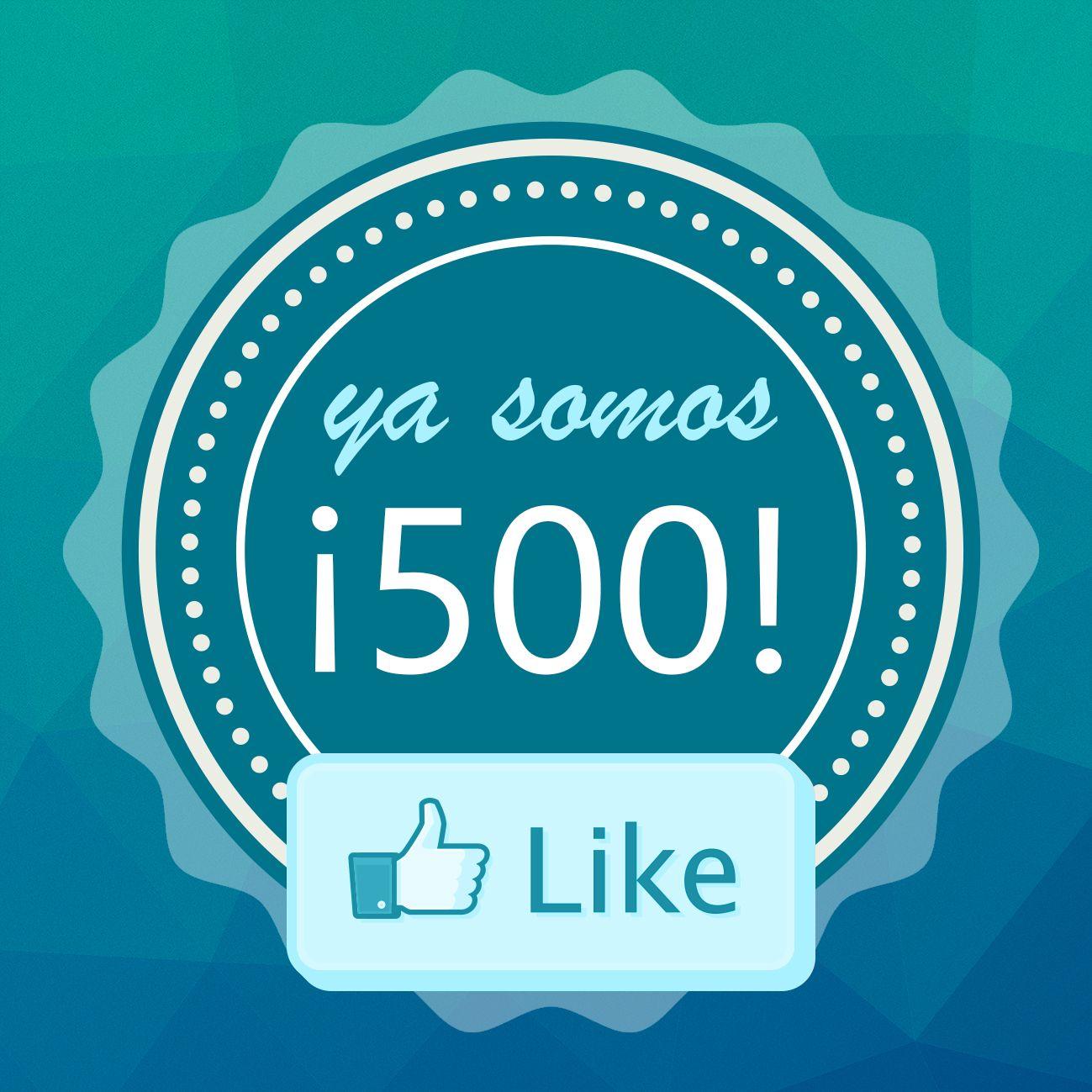 Ya somos + 500 en #Facebook! Gracias a todos! #AquaeSolutions  https://es-es.facebook.com/Aquaesolutions