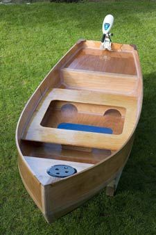 Freight Canoe From Butler Boats Plywood