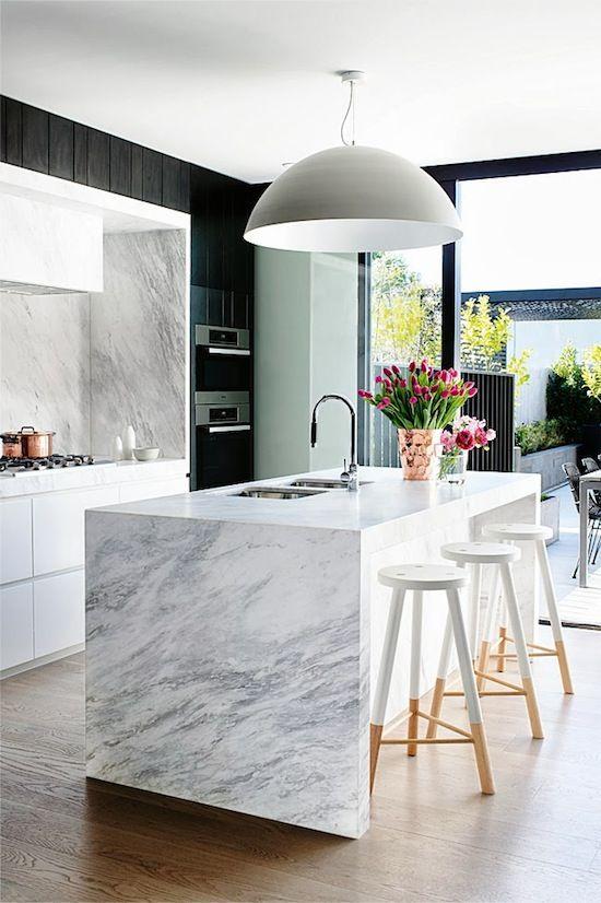 1121.black-kitchen.jpg 550×826 pixels | Kitchen | Pinterest ...