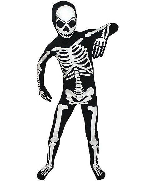 Kids Skeleton Skin Suit Costume Spirithalloween Com Skeleton Halloween Costume Skeleton Costume Kids Boy Halloween Costumes