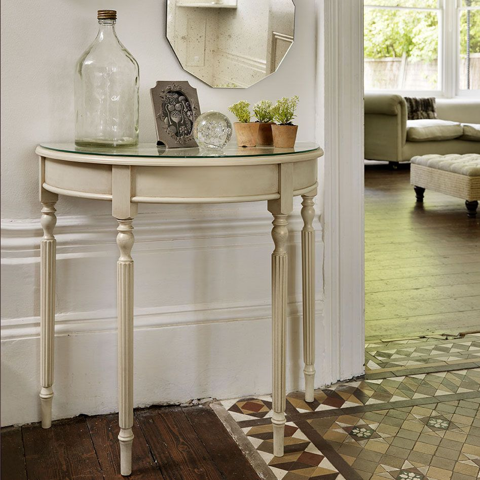 Demilune table The Versatile and Stylish Demilune Table Interior