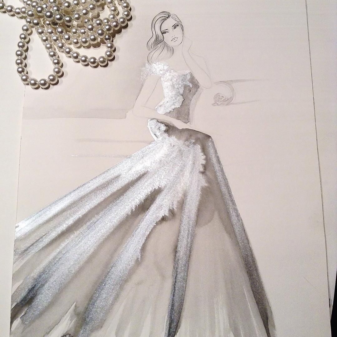 Fashion Designer Illustrator La Ca For All Inquiries П�� ž� Paulkotisartyahoo Paulkfashion: Fashion Sketches Italian Wedding Dresses At Websimilar.org