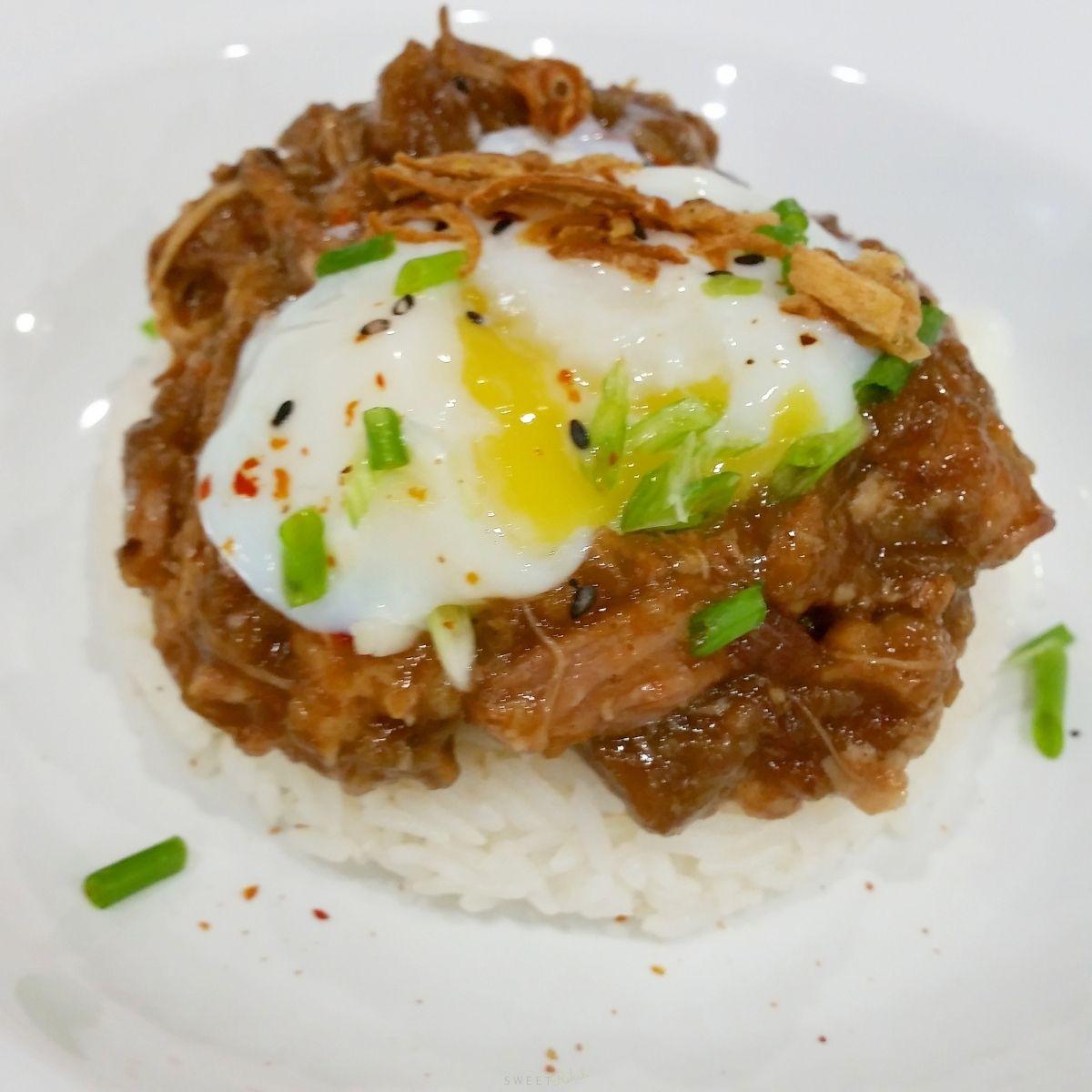 Lu Rou Fan (Taiwanese-style Braised Pork on Rice ...